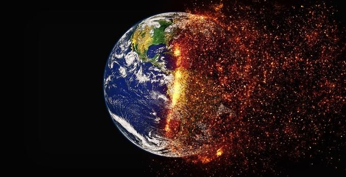 '탄소배출 권' 이산화탄소는 온실기체로 작용하여 우주공간으로 나가는